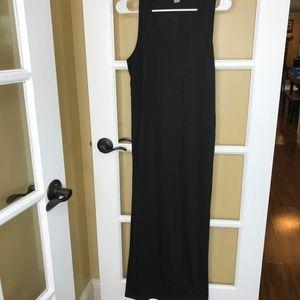 West Loop Black Maxi Dress (XL)